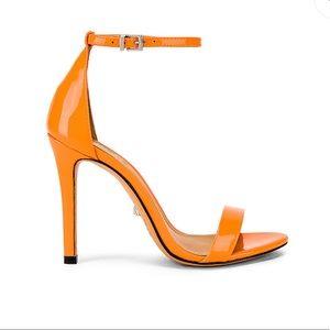 Schutz Cadey Lee Heel in Neon Orange NWT